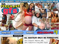 Real Pregnant GFs! Hot and horny teen pregnant girlfriends sharing pics and Videos online!